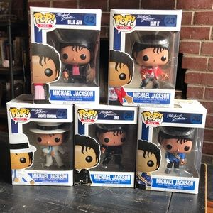 Funko Michael Jackson Bad Vaulted POP Rocks